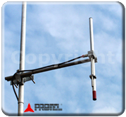 Systèmes FM 87-108 MHz Protel Antenne Dipole Omnidirectionnelle